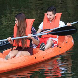 Kayak en rio sabinos
