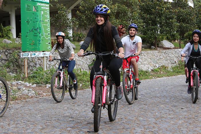 Bicicleta en Gomez Farias