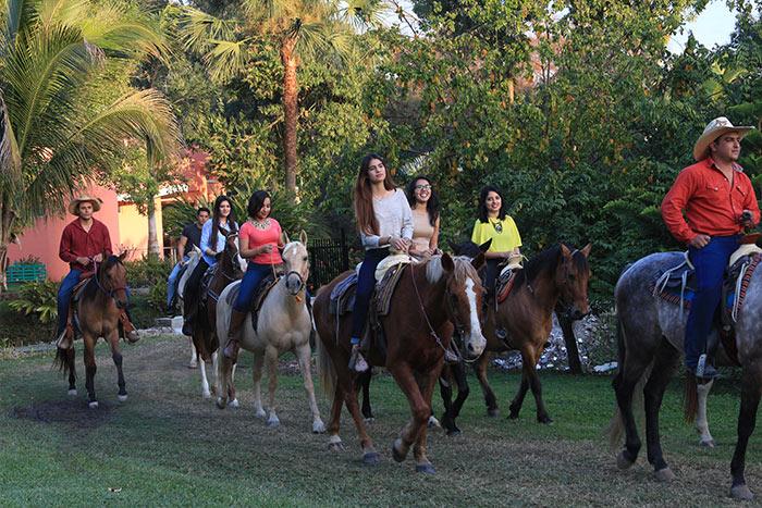 Monta a caballo en Los Sabinos
